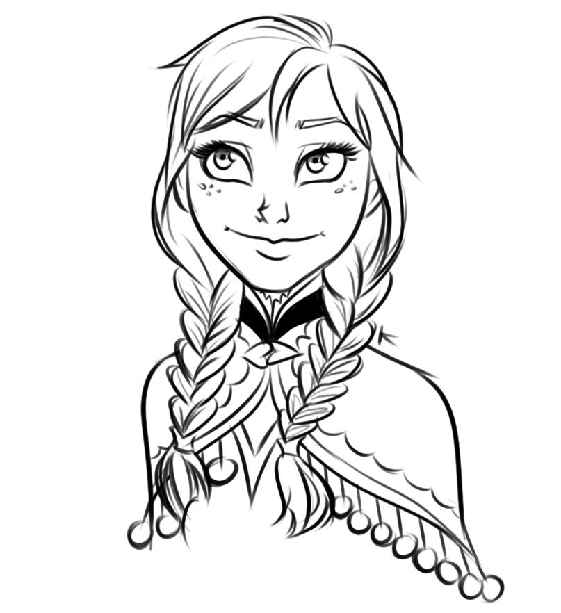 Fan arts la reine des neiges page 3 - Frozen coloriage ...