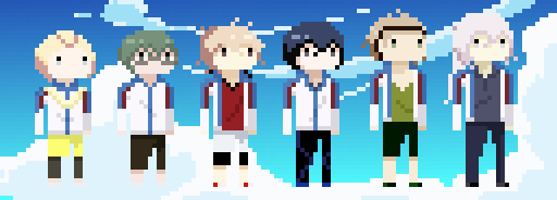 Prince of Stride Characters by drin-chan