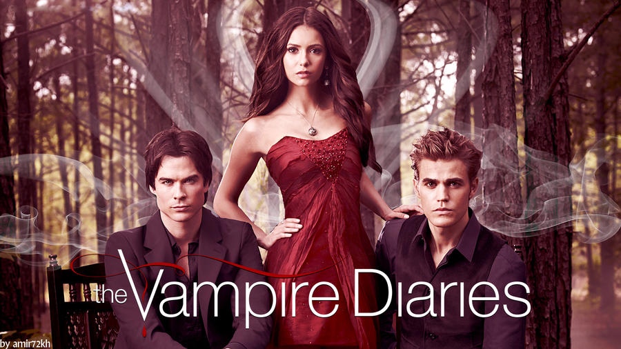 The Vampire Diaries Wallpaper by amir72kh on DeviantArt