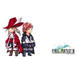 Final Fantasy Luneth and Arc by Shuyin-Strife