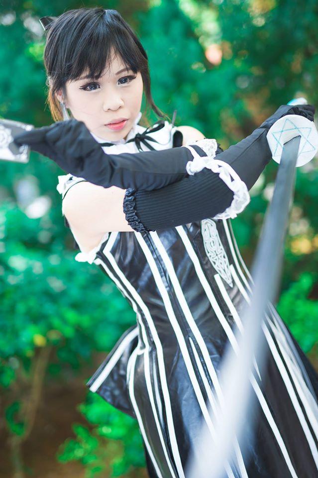 Sakuya from Shining Blade by melaniejoanneutau