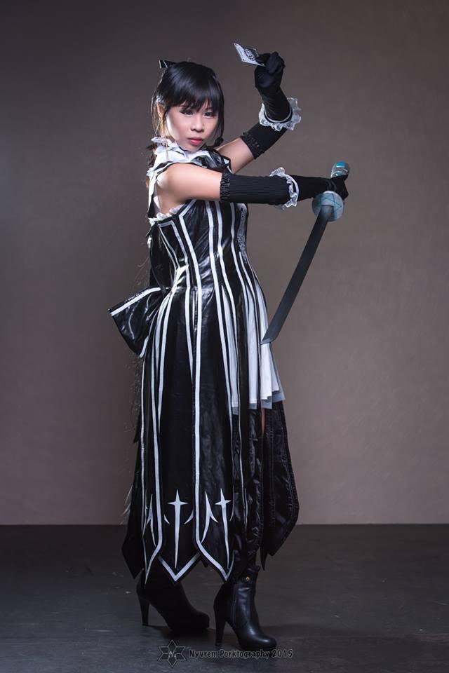 Sakuya - Shining Blade by melaniejoanneutau