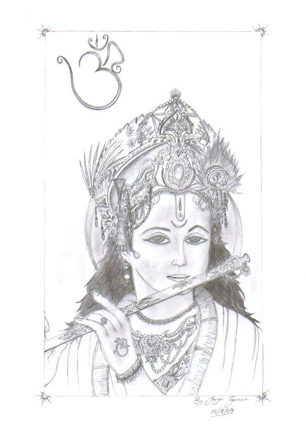 Lord Krishna Baby Drawings Traffic Club