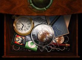 Desk Drawer by simdragon90
