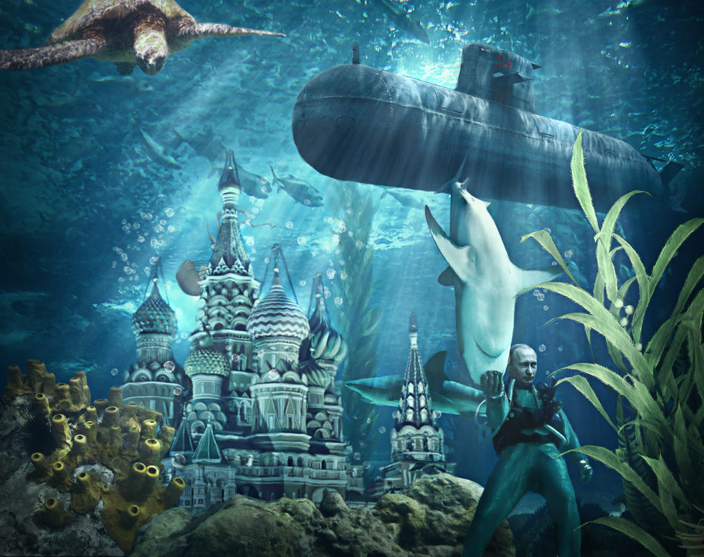 St. Basil's Cathedral Underwater