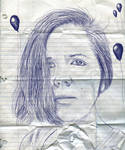 Ballpoint Pen Self-Portrait