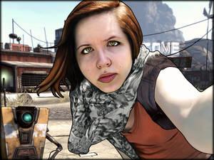 Borderlands Self-Portrait with Claptrap