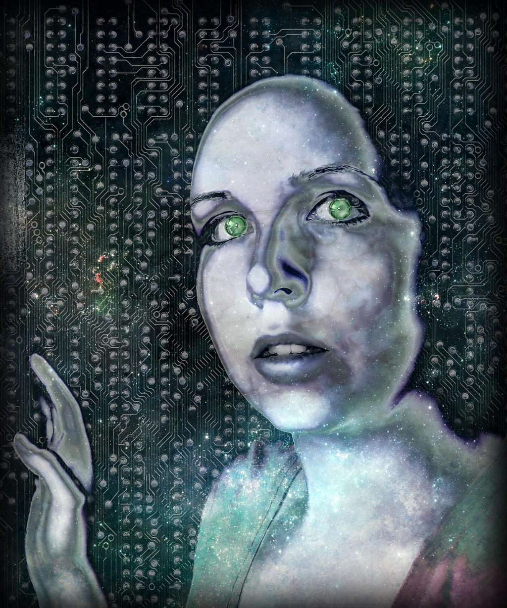 Spacey Self-Portrait by simdragon90