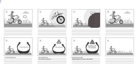 Motorcycle Safety-storyboard by JohnnyMc