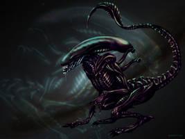 Alien Runner by Herisheft