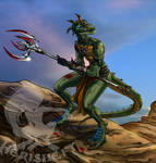 Reptile: hunting grounds