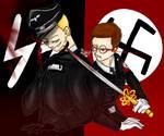 Reinhard Heydrich und Heinrich Himmler