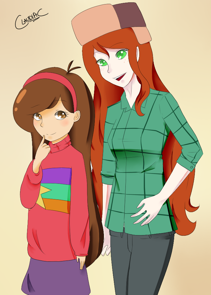 Gravity Falls Gals by BrokenHappiness