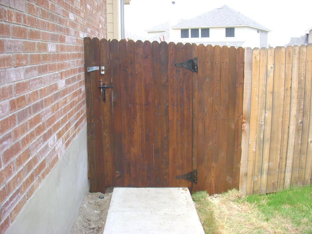 Awesome Backyard Door
