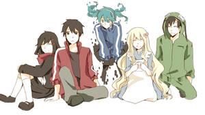 Commission - KagePro family (?)