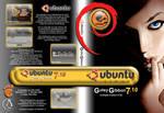 Ubuntu Gutsy Gibbon 7.10 DVD