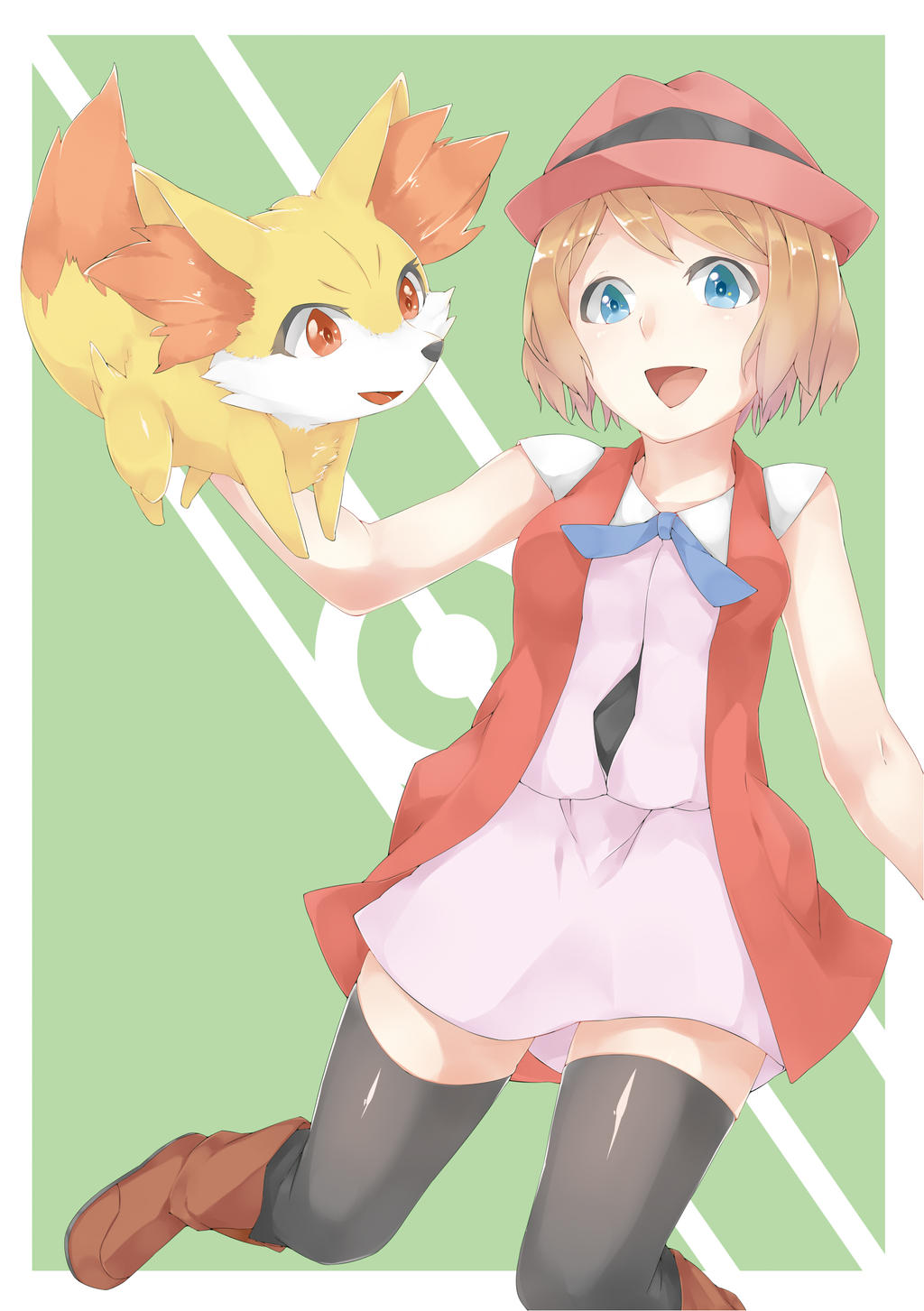 Short Serena and Fenne...