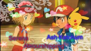 Serena and Ash Ketchum Amourshipping by JorgeMoctezuma