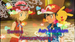 Serena and Ash Ketchum Amourshipping