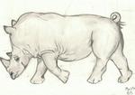White Rhino by AltaikaTau