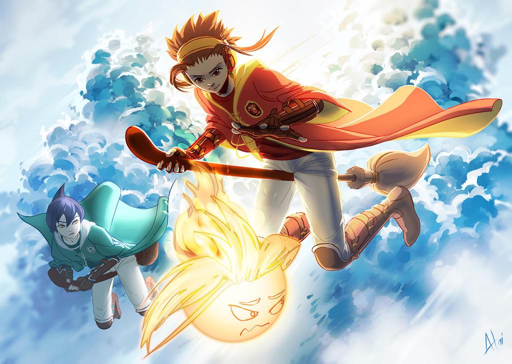 Golden spirit by Atrika