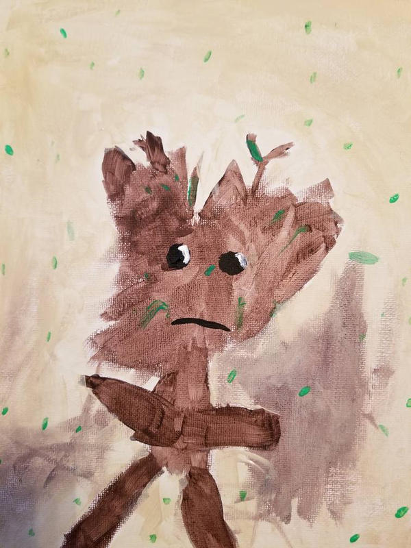 I Am Groot by ssstant