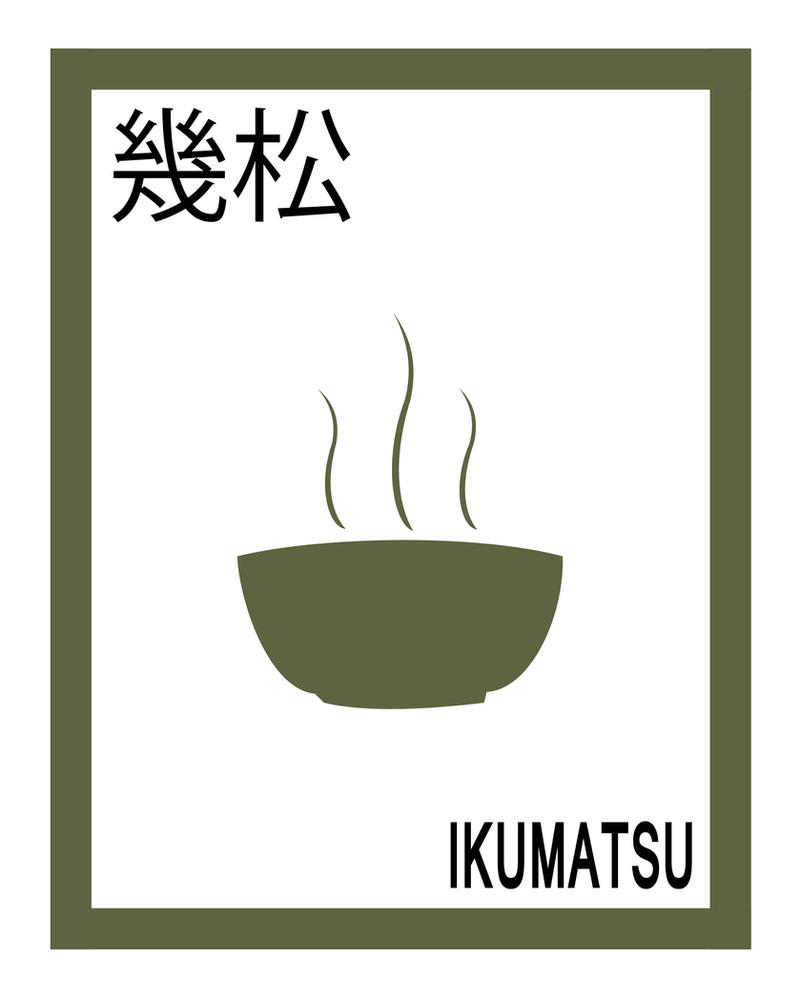 Ikumatsu Minimalist Design By AzureParasol On DeviantArt