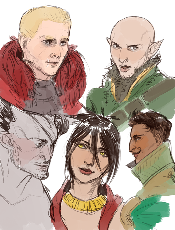 Dai Sketches 2 by FlightyFelon