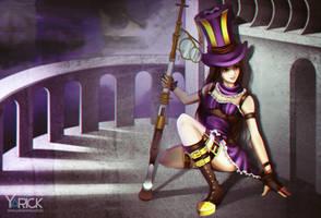 Caitlyn - League Of Legends by YarickArt