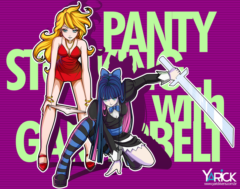 Panty and Stocking With Garterbelt by YarickArt