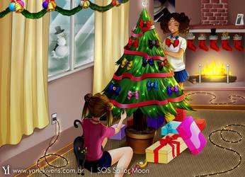 Sailor Moon Christmas by YarickArt