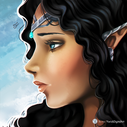 Mystic Elf by YarickArt