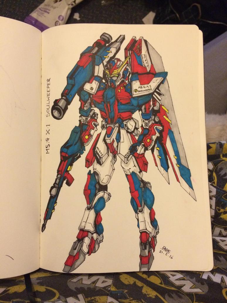 Gundam Soulweeper by fadeaway18