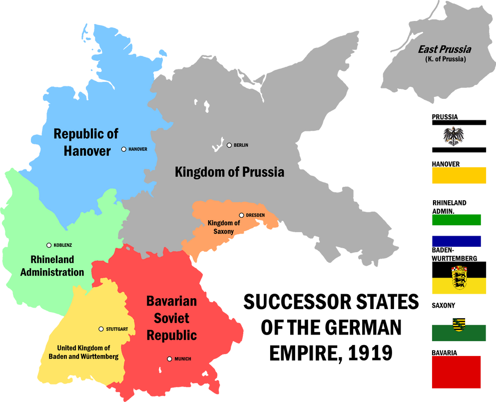 Map Of Germany 1919.Alternate History Divided Germany 1919 By Doubledsimpson On Deviantart