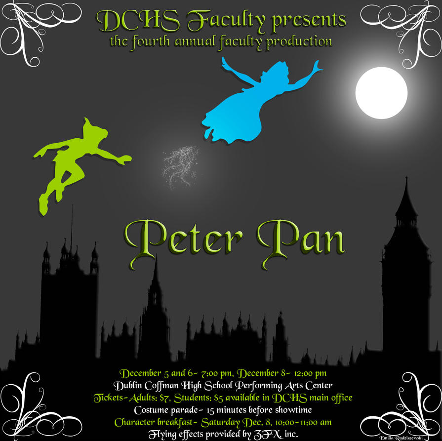 Peter Pan By Insanitycrazed