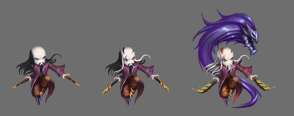 Game Character Design Contest 2015 : Game character design by bladdneart on deviantart