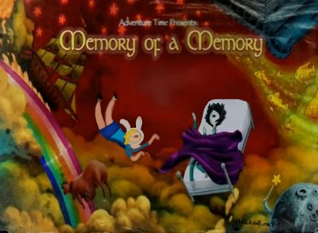 Memory of a Memory ( Fionna and Marshall Lee ) by TheDarkWolfLover