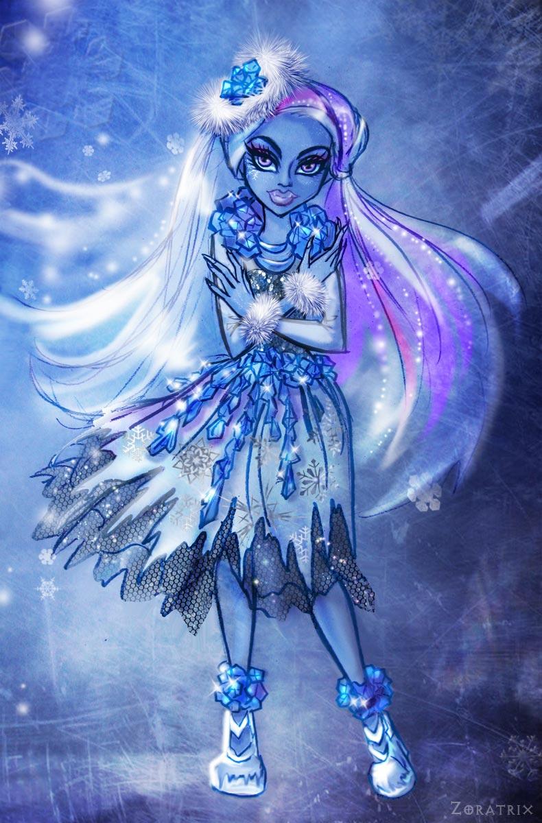 Snow enchantment by Zoratrix