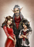 Comm: The Bloodwing Family by Zoratrix