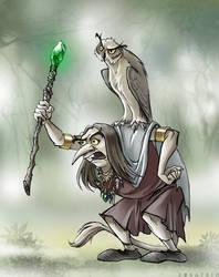 Troll Witch by Zoratrix