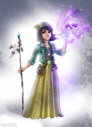 Janna the sorceress by Zoratrix