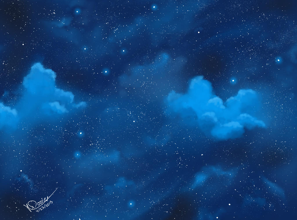 blue night sky background - photo #18