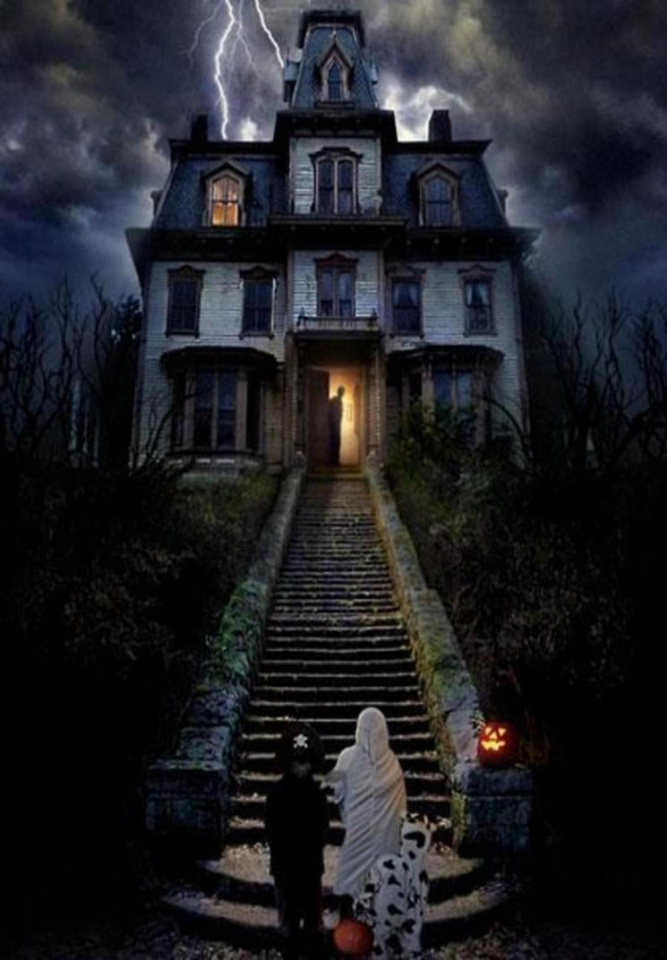 haunted house happy halloween by jvs007