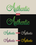 Authentic logo #2