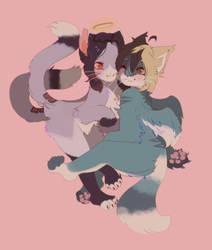 kitty love by Lieuu