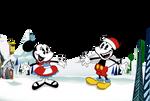 Mickey Mouse in Yodelberg Santa