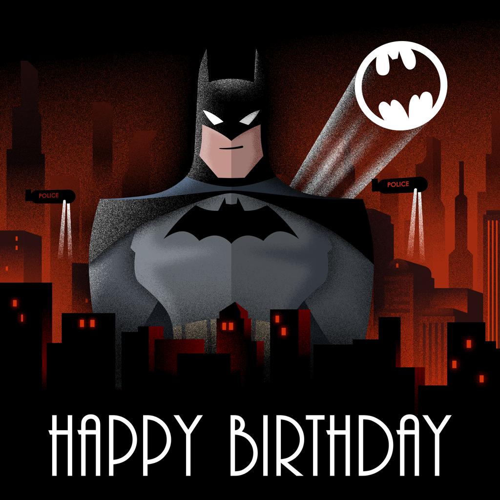 Batman Birthday Card by Scara1984 on DeviantArt  Batman Birthday...