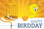 Tweety Bird-Day Card