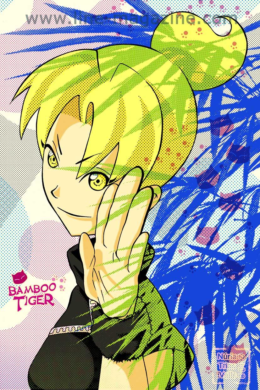 5Kick Skools - Bamboo Tiger by ntriasivalls