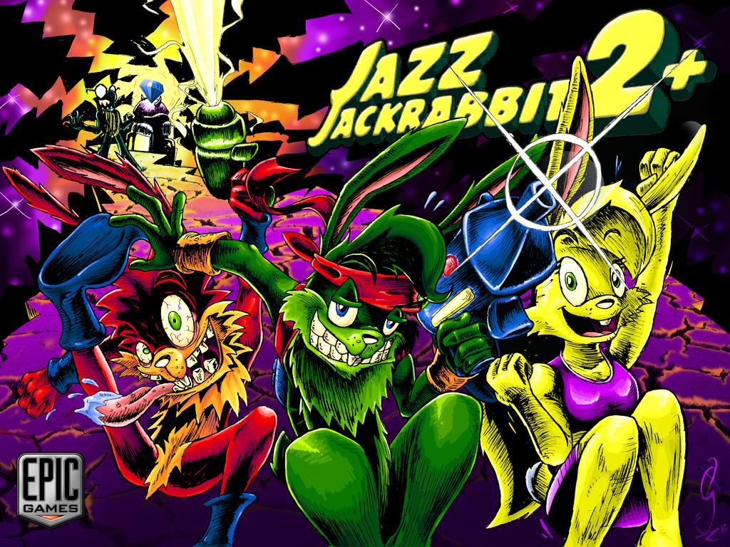 Jazz Jackrabbit 2+ Contest Splash by JSZ-JaZz
